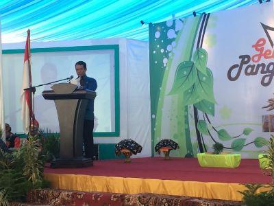 Mentan Amran Hadiri Gelar Pangan Nusantara di Padang