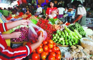 perkembangan harga dan pasokan pangan di provinsi sumatera barat periode bulan mei ta