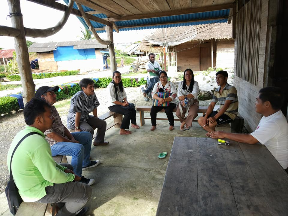 Dinas Pangan Sumbar Monev ke Kab. Kepulauan Mentawai
