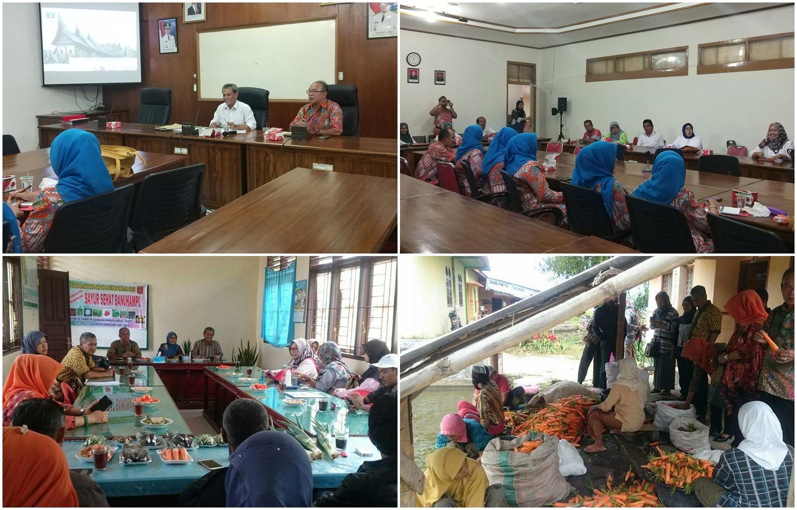 Dinas Ketahanan Pangan Prov. Banten berkunjung ke Sumbar