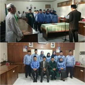 Kadis Pangan Sumbar Melantik Pejabat Esselon III dan IV Lingkup Dinas Pangan