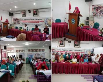 Rapat Koordinasi Dengan TP-PKK Kabupaten/Kota dan Dinas Yang Menangani Ketahanan Pangan Kabupaten/Kota Se-Sumatera Barat