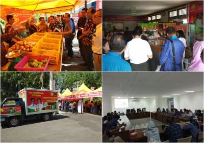 Kunjungan TPID Kalteng ke Provinsi Sumatera Barat